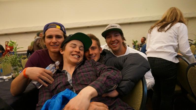 Bro love with TCRA boys and AJ Ginnis